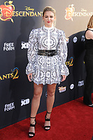 www.acepixs.com<br /> <br /> July 11 2017, LA<br /> <br /> Chloe Lukasiak arriving at the premiere of Disney Channel's 'Descendants 2' on July 11, 2017 in Los Angeles, California. <br /> <br /> By Line: Peter West/ACE Pictures<br /> <br /> <br /> ACE Pictures Inc<br /> Tel: 6467670430<br /> Email: info@acepixs.com<br /> www.acepixs.com