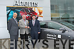 On Monday at Ahern's Garage Ltd, Castleisland Road, Tralee Pat Ahern director presented Paudie O'Shea with the Keys of an Opel Insigna 2012 also in pic was J.J Moriarty (Sales Ect).......