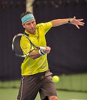 Hilversum, The Netherlands, March 12, 2016,  Tulip Tennis Center, NOVK, Dennis Kockx (NED)<br /> Photo: Tennisimages/Henk Koster