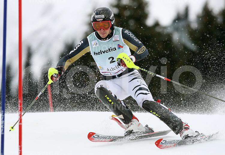 Ski Alpin;  Saison 2006/2007   06.01.2007 42. Weltcup Slalom  Herren Felix Neureuther (GER)