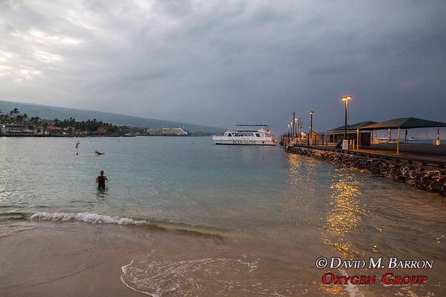 Dawn, Kamakahonu Beach & Kailua Pier