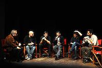 Vincenzo Mollica, Ferzan Ozpetek, Fausto Brizzi, Paolo Genovese, Luciano Pieraccioni, Saverio Costanzo .Firenze 06/04/2013 Teatro del Sale.Rai Screenings 2013 Convegno Rai Cinema.Foto Andrea Staccioli Insidefoto