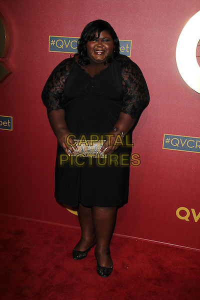 BEVERLY HILLS, CA - February 28: Gabourey Sidibe at QVC 5th Annual Red Carpet Style Event, Four Seasons, Beverly Hills,  February 28, 2014.  <br /> CAP/MPI/JO<br /> &copy;Janice Ogata/MediaPunch/Capital Pictures