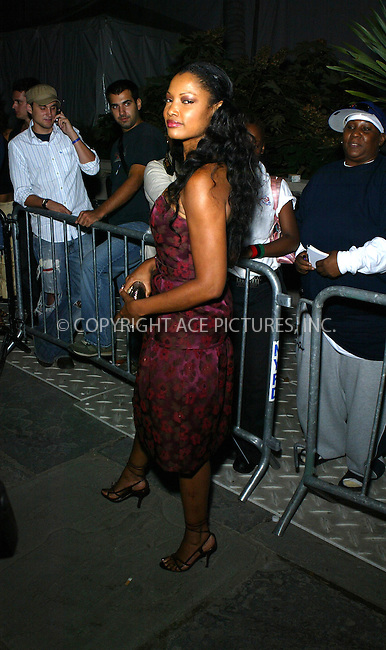 WWW.ACEPIXS.COM ** ** ** ....NEW YORK, SEPTEMBER 11, 2005....Garcelle Beauvais at Bryant Park for Olympus Fashion Week.....Please byline: PAUL CUNNINGHAM - ACE PICTURES.. *** ***  ..Ace Pictures, Inc:  ..Craig Ashby (212) 243-8787..e-mail: picturedesk@acepixs.com..web: http://www.acepixs.com