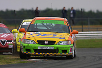 Round 4 of the 2002 British Touring Car Championship. #89 Peter Cate (GBR). Team B&Q. Honda Accord.