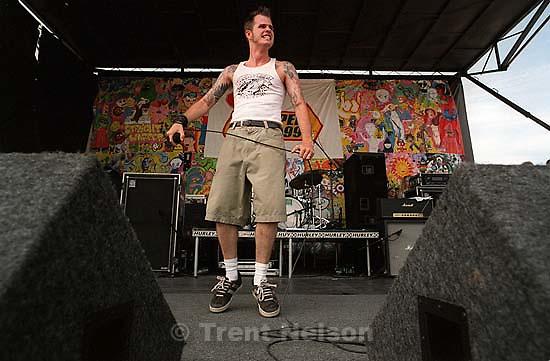 Dropkick Murphys at the Vans Warped Tour.<br />
