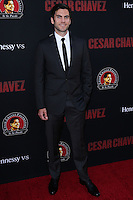 "HOLLYWOOD, LOS ANGELES, CA, USA - MARCH 20: Wes Bentley at the Los Angeles Premiere Of Pantelion Films And Participant Media's ""Cesar Chavez"" held at TCL Chinese Theatre on March 20, 2014 in Hollywood, Los Angeles, California, United States. (Photo by David Acosta/Celebrity Monitor)"