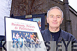 LOOKING BACK: Joe Murphy of St John's Theatre in Listowel which has opened its annual display of images of the highlights of the past year at the theatre.