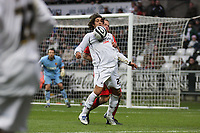 Pictured: Guillem Bauzà of Swansea City in action <br /> Re: Coca Cola Championship, Swansea City Football Club v Watford at the Liberty Stadium, Swansea, south Wales 09 November 2008.<br /> Picture by Dimitrios Legakis Photography (Athena Picture Agency), Swansea, 07815441513