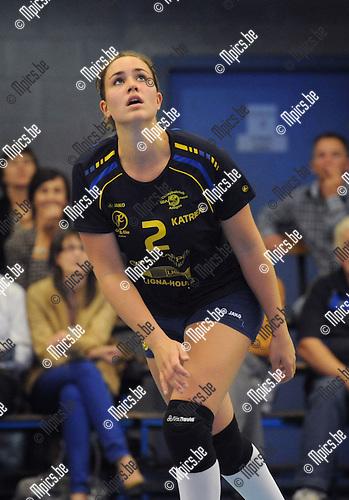 2013-09-28 / Volleybal / seizoen 2013-2014 / Amigos Zoersel / Katrien Gielen<br /><br />Foto: Mpics.be