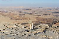 View point in desert returning from Eilat.