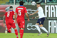 Italy's Cristiano Biraghi vies for the ball with Armenia's Tigran Barseghyan <br /> Palermo 18-11-2019 Stadio Renzo Barbera <br /> UEFA European Championship 2020 qualifier group J <br /> Italy - Armenia <br /> Photo Carmelo Imbesi / Insidefoto