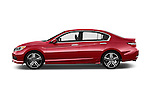 Car Driver side profile view of a 2016 Honda Accord Sport 4 Door Sedan Side View