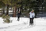 Spooner cross country skiers