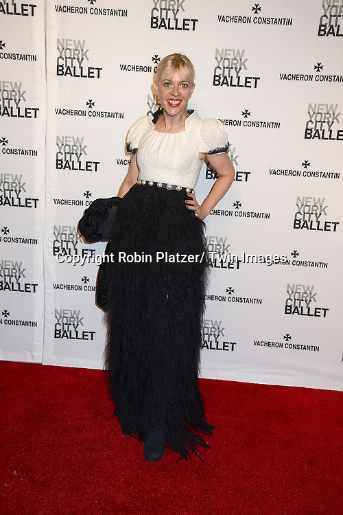 Catherine Martin attends the New York City Ballet Spring 2014 Gala on May 8, 2014 at David Koch Theatre in Lincoln Center in New York City, NY, USA.