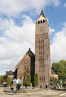 Nederland  Amsterdam 2016. De Vredeskerk in de Pijp.  Foto Berlinda van Dam / Hollandse Hoogte