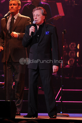 HOLLYWOOD FL - MARCH 2 : Frankie Valli performs at Hard Rock live held at the Seminole Hard Rock hotel & Casino on March 2, 2012 in Hollywood, Florida. ©mpi04/MediaPunch Inc