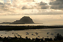 Le Morne from Black River, Mauritius.