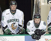 Zach Jones, Brian Lee - The University of Minnesota Golden Gophers defeated the University of North Dakota Fighting Sioux 4-3 on Friday, December 9, 2005, at Ralph Engelstad Arena in Grand Forks, North Dakota.