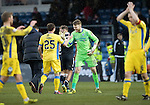 Ross County v St Johnstone&hellip;18.02.17     SPFL    Global Energy Stadium, Dingwall<br />Zander Clark celebrates with Chris Kane at full time<br />Picture by Graeme Hart.<br />Copyright Perthshire Picture Agency<br />Tel: 01738 623350  Mobile: 07990 594431
