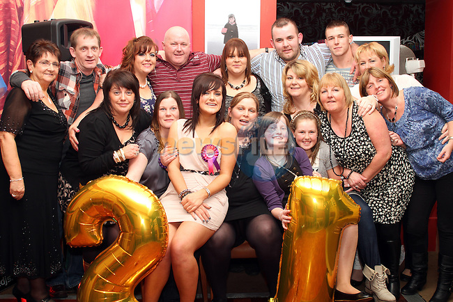 Samantha Kirwan's 21st in Harry's...(Photo credit should read Jenny Matthews/www.newsfile.ie)....This Picture has been sent you under the conditions enclosed by:.Newsfile Ltd..The Studio,.Millmount Abbey,.Drogheda,.Co Meath..Ireland..Tel: +353(0)41-9871240.Fax: +353(0)41-9871260.GSM: +353(0)86-2500958.email: pictures@newsfile.ie.www.newsfile.ie.