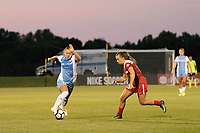 Boyds, MD - Saturday June 03, 2017: Andressa Cavalari Machry, Meggie Dougherty Howard during a regular season National Women's Soccer League (NWSL) match between the Washington Spirit and Houston Dash at Maureen Hendricks Field, Maryland SoccerPlex.