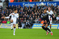 Ben Cabango of Swansea City in action during the Sky Bet Championship match between Swansea City and Barnsley at the Liberty Stadium in Swansea, Wales, UK. Sunday 29 December 2019
