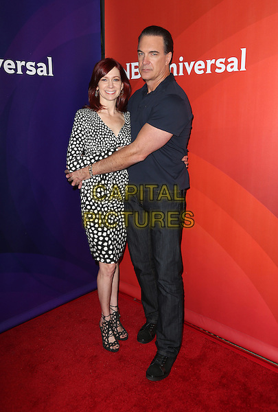 Pasadena, CA - January 13: Carrie Preston, Patrick Warburton Attending 2016 Winter TCA Tour - NBCUniversal Press Tour At The Langham Hotel  California on January 13, 2015. <br /> CAP/MPI/FS<br /> &copy;FS/MPI/Capital Pictures