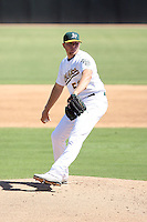 AJ Griffin - Oakland Athletics - 2010 Instructional League.Photo by:  Bill Mitchell/Four Seam Images..