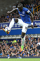 Oumar Niasse of Everton during the Premier League match between Everton and Burnley at Goodison Park on October 1st 2017 in Liverpool, England. <br /> Calcio Everton - Burnley Premier League <br /> Foto Phcimages/Panoramic/insidefoto