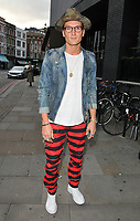 Oliver Proudlock at the James Bay x TOPMAN new capsule collection launch party, Ace Hotel Shoreditch, Shoreditch High Street, London, England, UK, on Tuesday 08 August 2017.<br /> CAP/CAN<br /> &copy;CAN/Capital Pictures