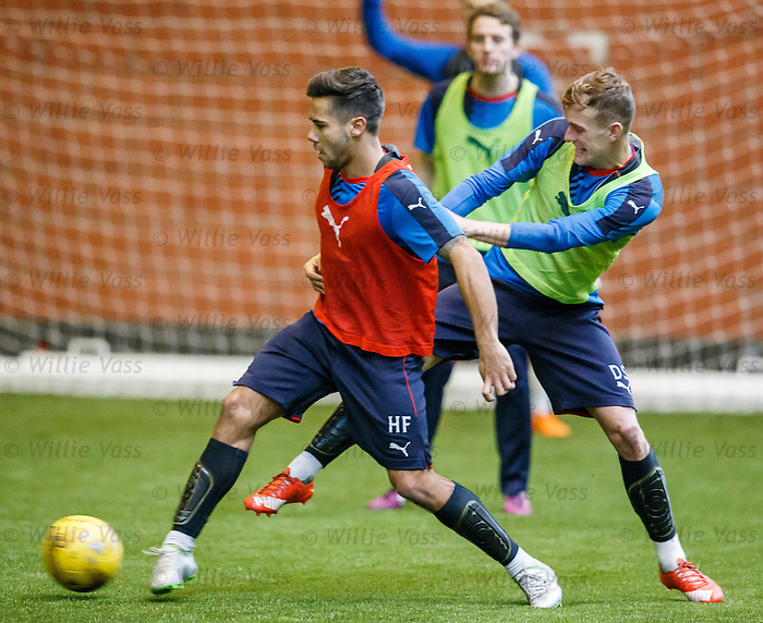 Harry Forrester and Dean Shiels