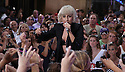 "NEW YORK - JULY 09:  Lady Gaga performs on NBC's ""Today"" in Rockefeller Center on July 9, 2010 in New York City.  (Photo by Soul Brother/FilmMagic)"