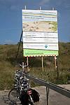 Coastal defence engineering work in sand dunes, Ter Heijde, Holland