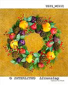 Ingrid, MODERN, MODERNO, paintings+++++,USISMC11C,#N#,fruit wreath ,everyday