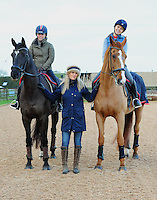Rudall rides with Sophie Wells MBE 4.1.17