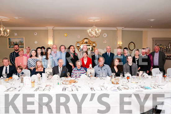 60th Wedding Anniversary: Danny & Eileen Hannon, Listowel celebrating their 60th wedding anniversary with family & friends at the Listowel Arms hotel on Saturday afternoon last.