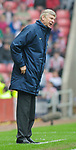 Arsenal's Arsene Wenger. during the Premier League match at the Stadium of Light, Sunderland. Picture date 21st May 2008. Picture credit should read: Richard Lee/Sportimage