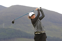 Emily Toy (Carlyon Bay) on the 2nd tee during Round 2 of the Women's Amateur Championship at Royal County Down Golf Club in Newcastle Co. Down on Wednesday 12th June 2019.<br /> Picture:  Thos Caffrey / www.golffile.ie