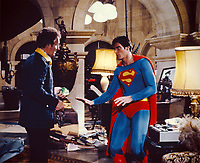 Superman (1978) <br /> Christopher Reeve &amp; Gene Hackman<br /> *Filmstill - Editorial Use Only*<br /> CAP/KFS<br /> Image supplied by Capital Pictures