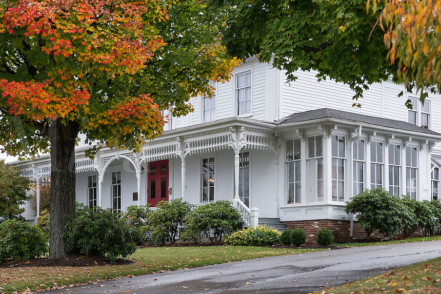 The historic Tripp House, Scranton,  Lackawanna County, Pennsylvania, USA