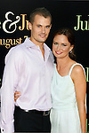 "WESTWOOD, CA. - July 27: Mary Lynn Rajskub (R) and Matthew Rolph  arrive at the Los Angeles screening  of ""Julie & Julia"" at the Mann Village Theatre on July 27, 2009 in Westwood, California."