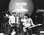Hall & Oates 1978 Daryl Hall and John Oates on Midnight Special.© Chris Walter.