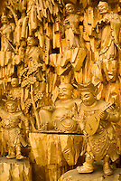 AVAILABLE FROM JEFF AS A FINE ART PRINT.<br /> <br /> AVAILABLE FOR COMMERCIAL AND EDITORIAL LICENSING FROM PLAINPICTURE.  Please go to www.plainpicture.com and search for image # p5690096.<br /> <br /> Chinese Buddhist Temple, Mott Street, Chinatown, New York City, New York State, USA