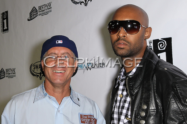 CRAIG NOBLES, LA THE BARBER. Attendees to Souljah Boy Red Carpet Birthday Bash and Performance, sponsored by Swaggmedia.com, at the Highlands. Hollywood, CA, USA. July 28, 2010.