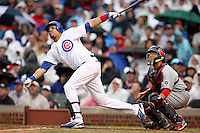 August 18, 2007: Chicago Cubs slugger Aramis Ramirez at bat against the St. Louis Cardinals at Wrigley Field in Chicago, IL.  Photo by:  Chris Proctor/Four Seam Images