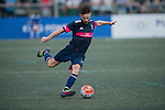 Leicester City vs Singapore Cricket Club during the Main of the HKFC Citi Soccer Sevens on 21 May 2016 in the Hong Kong Footbal Club, Hong Kong, China. Photo by Lim Weixiang / Power Sport Images