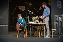 London, UK. 24.09.2014. Schaubuhne Berlin presents AN ENEMY OF THE PEOPLE, by Henrik Ibsen, directed by Thomas Ostermeier, at the Barbican. Photograph © Jane Hobson.