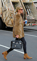 www.acepixs.com<br /> <br /> January 30 2017, New York City<br /> <br /> Socialite Nicky Hilton Rothschild wears a short fur jacket as she walks around her East Village neighborhood on January 30 2017 in New York City<br /> <br /> By Line: Curtis Means/ACE Pictures<br /> <br /> <br /> ACE Pictures Inc<br /> Tel: 6467670430<br /> Email: info@acepixs.com<br /> www.acepixs.com