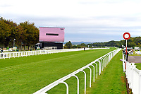 A general view of the racecourse  during Evening Racing at Salisbury Racecourse on 3rd September 2019